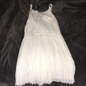 Hollister lace white dress